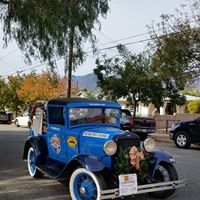 Model A Pickup built by Fillmore HS Shop Class and driven in the History Channel Great Race