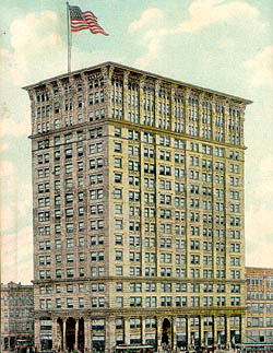 Historic Postcard of the Candler Building