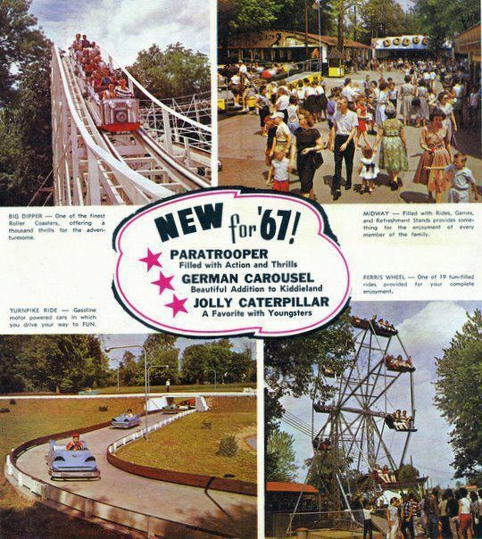 A 1967 flyer showcasing new attractions.