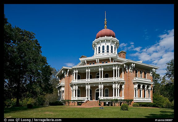 Longwood Mansion (Mississippi) was designed by Samuel Sloan (1815-1884), the same architect who designed the Slifer House. 