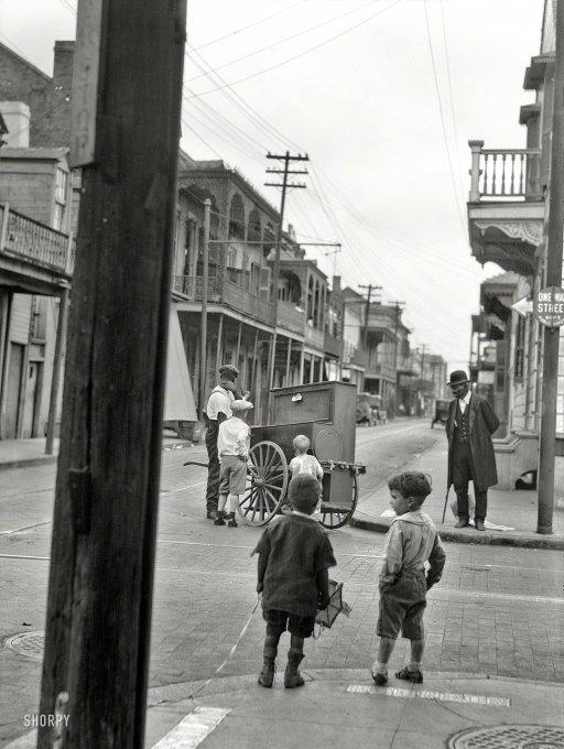 Bourbon Street in 1925