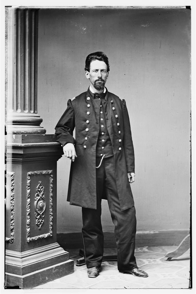 Colonel George Thom, U.S. Army Corps of Engineers, who ordered the construction of Fort Boreman. He was an aide to General Henry Halleck for much of the war and oversaw hundreds of engineering projects.