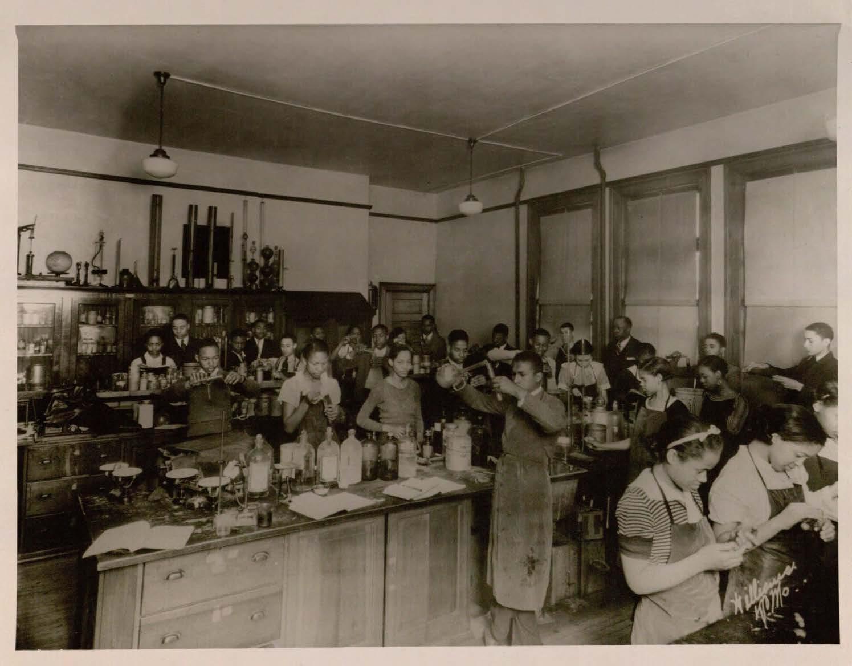 Chemistry Class, 1930s