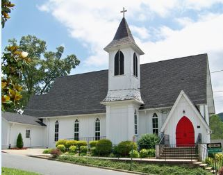 A current image of the church and how it appears today.