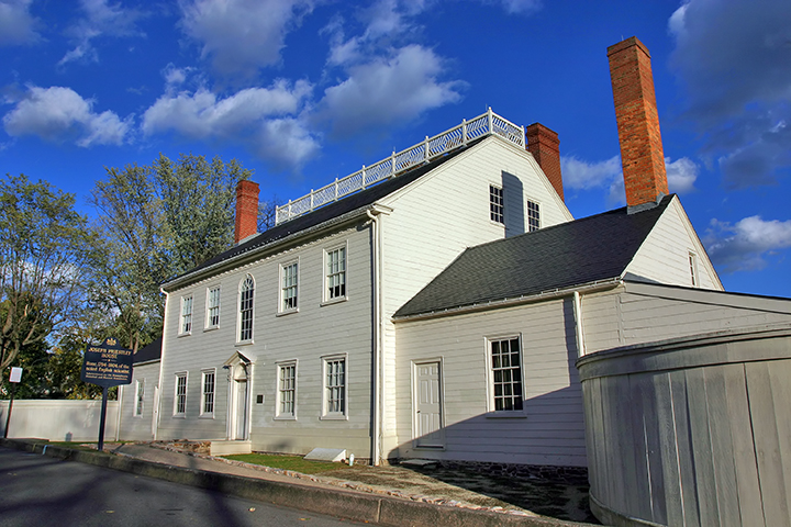 Alternate Front View of the Joseph Priestley House