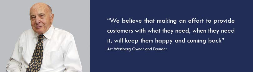 Art Weisberg and his quote for keeping customers happy
