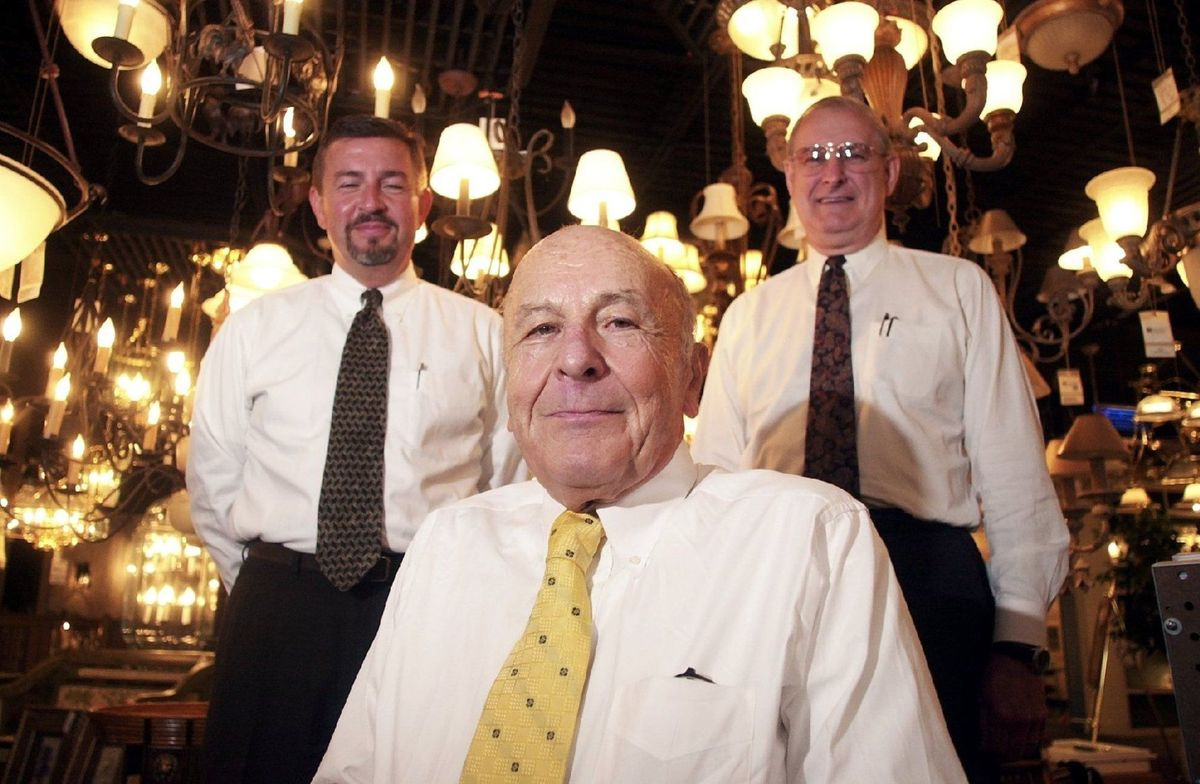 Art Weisberg, John Spoor, and Clarence Martin