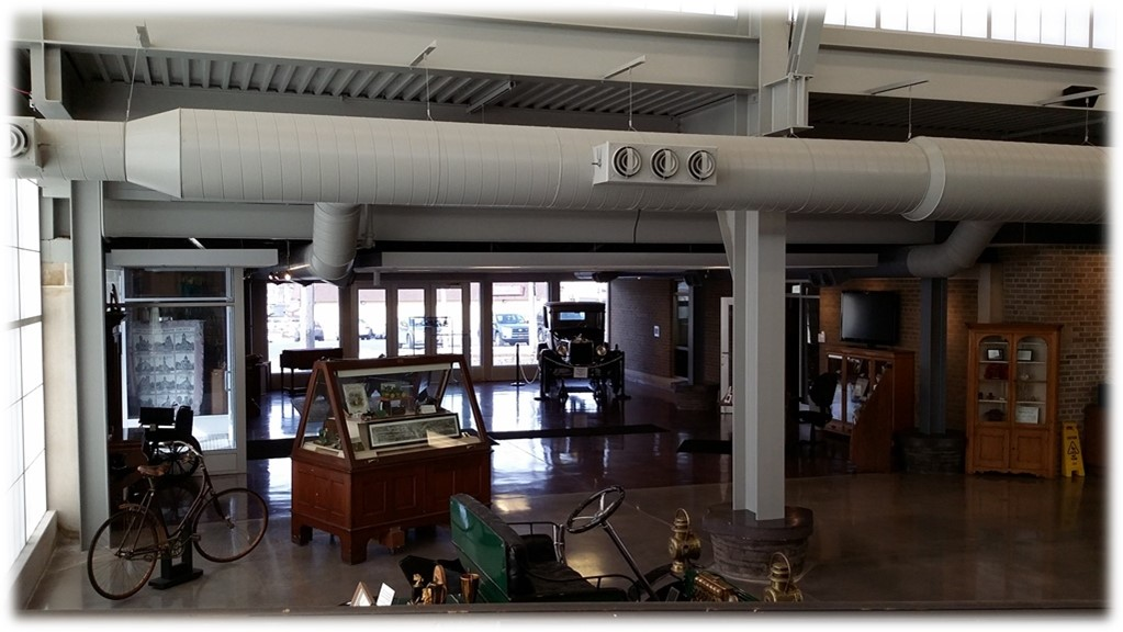 Grand Gallery- Space available for rentals and rotating exhibits.