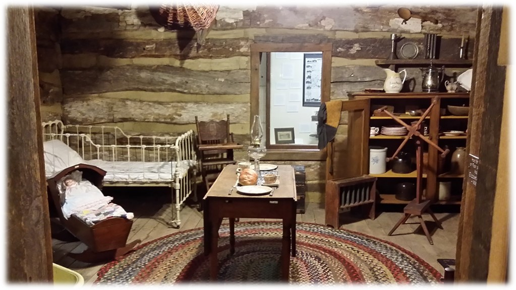 Duxtad Cabin- Historic log cabin located inside BCHM.
