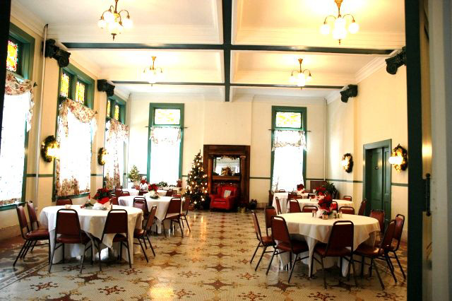 The second floor Banquet Room