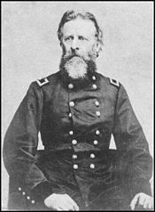 Lt. Col. Cooke during the Civil War. He took command of the Battalion in Santa Fe.