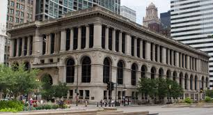 The Chicago Cultural Center was constructed in 1897, becoming the city's first central library. It was established as the Chicago Cultural Center in 1991.