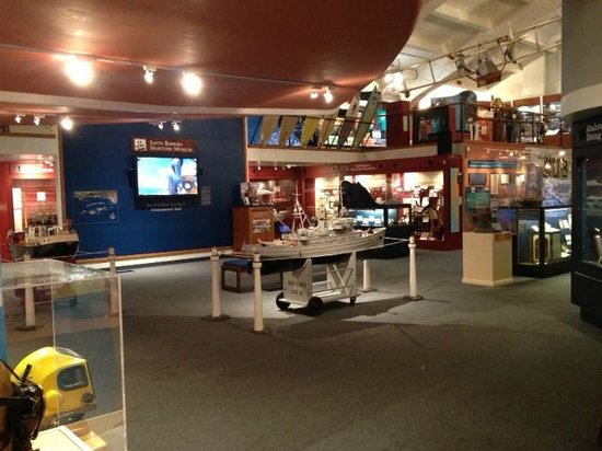 Exhibits within the museum.