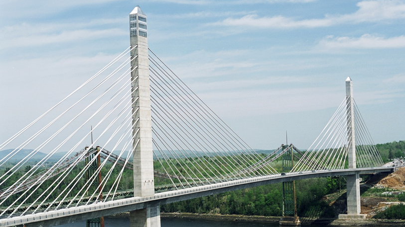The Penobscot Narrows Bridge