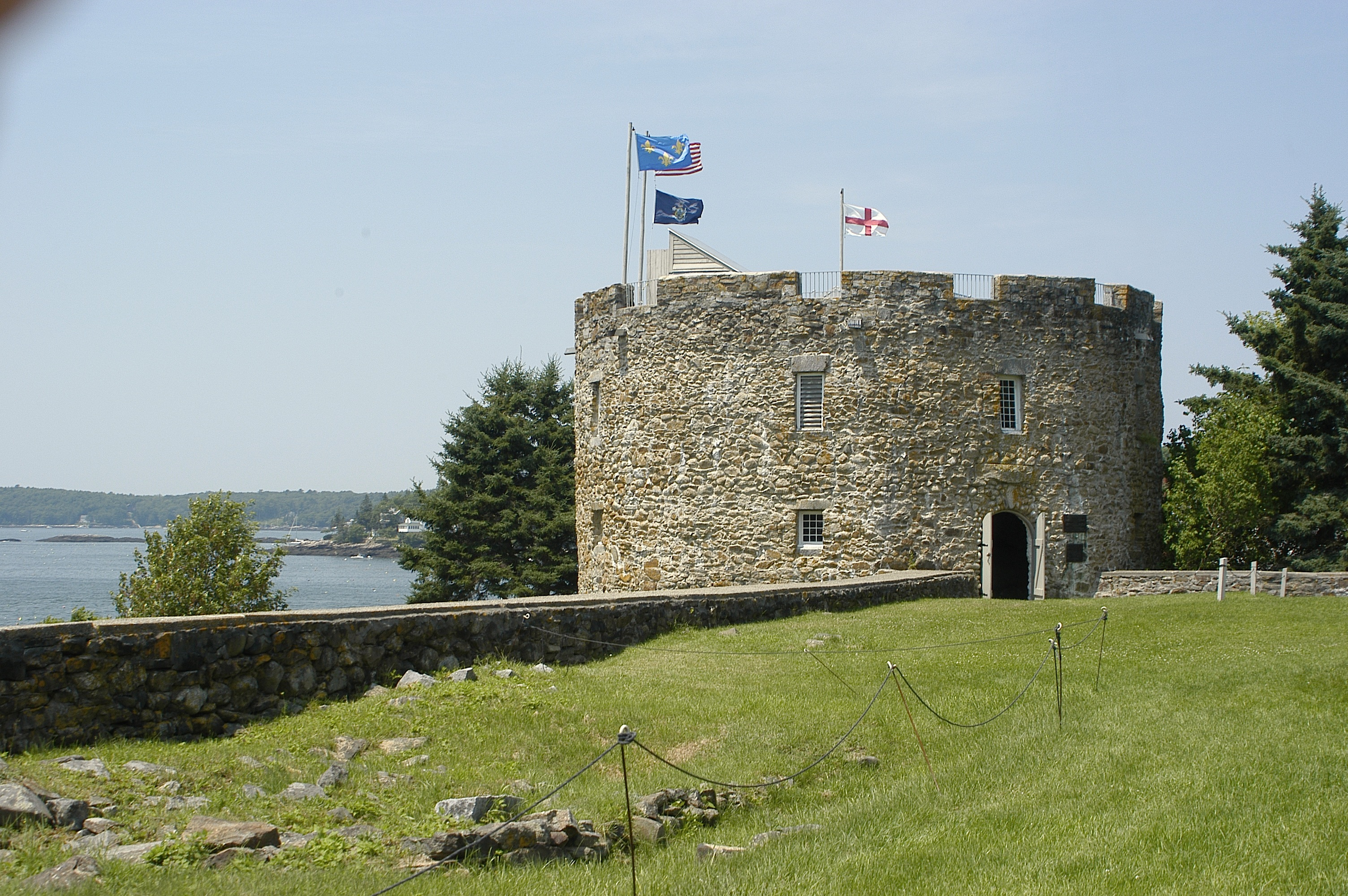 The Colonial Pemaquid State Historic Site
