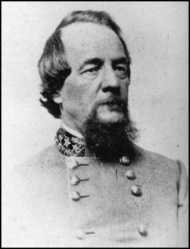 (Then) Col. Edward Johnson, Confederate commander at the battle. He rose to command a division during the Gettysburg campaign, and was later considered to replace Longstreet when the latter was wounded in 1864. He was captured at Spotsylvania.