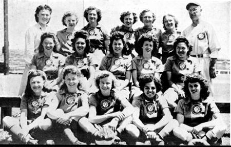 Fort Wayne Daisies, 1945