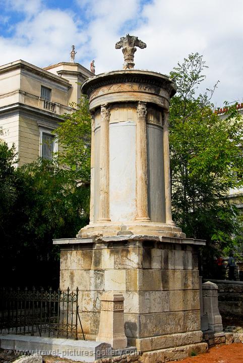 The Choragic Monument of Lysicrates