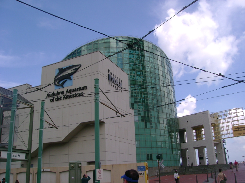 The Aquarium as it appeared after renovations to repair damages from Hurricane Katrina