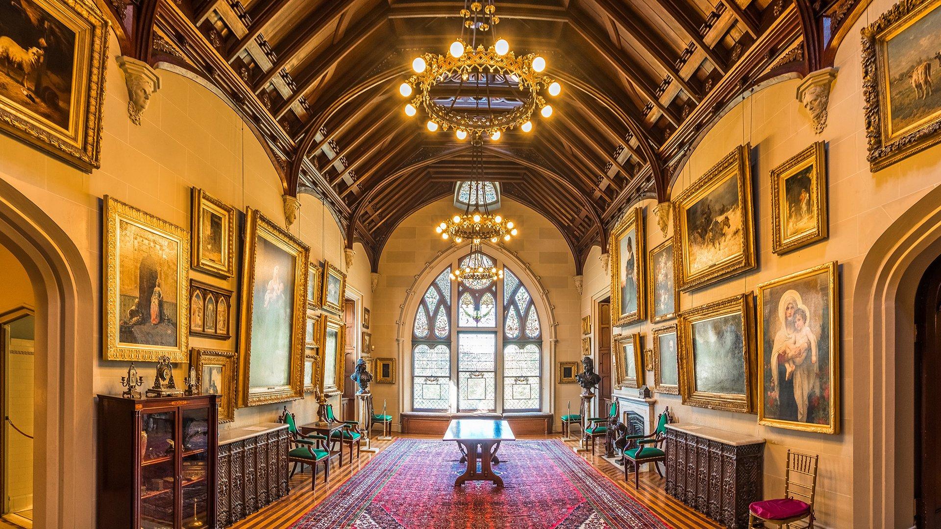 Inside Lyndhurst Mansion