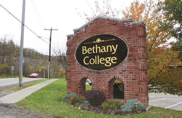 Bethany College sign