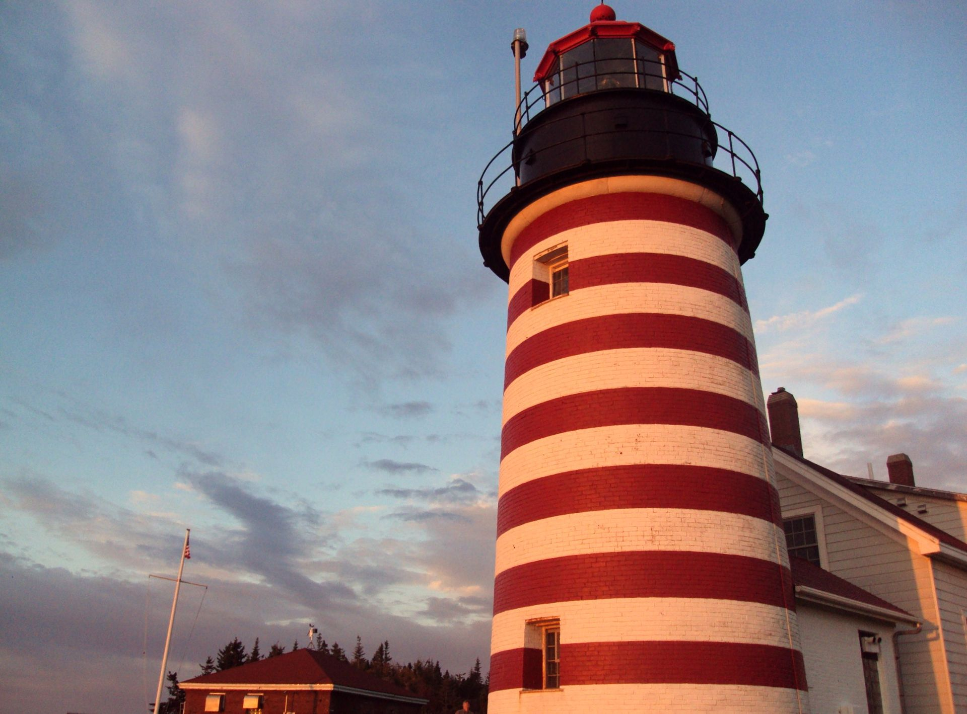 The West Quoddy Head Light