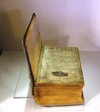 The Lincoln's family bible.