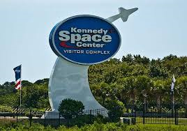 Kennedy Space Center Visitor Complex Sign
