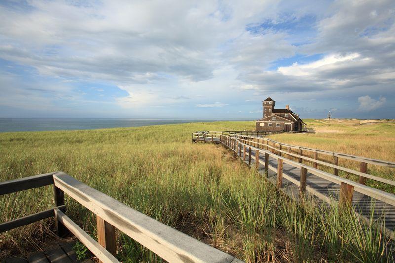 Photo courtesy of Jesse Stuart Mechling (travel & nature photography). One of the Old-Harbor Life Saving Stations.