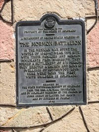 Plaque found on monument
