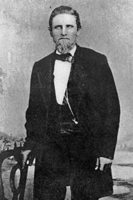 Snowshoe Thompson in late-1860s, early 1870s