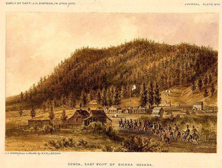 1859 of Mormon Station and Genoa