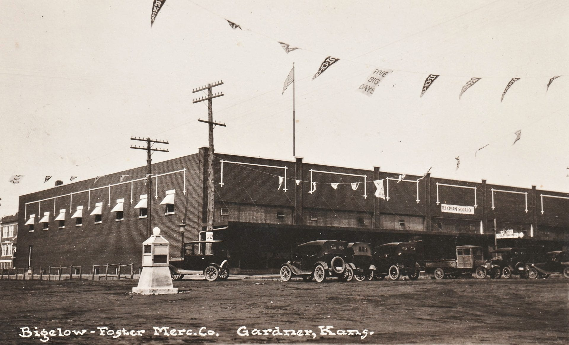 The Bigelow-Foster Mercantile, circa early 1920s
