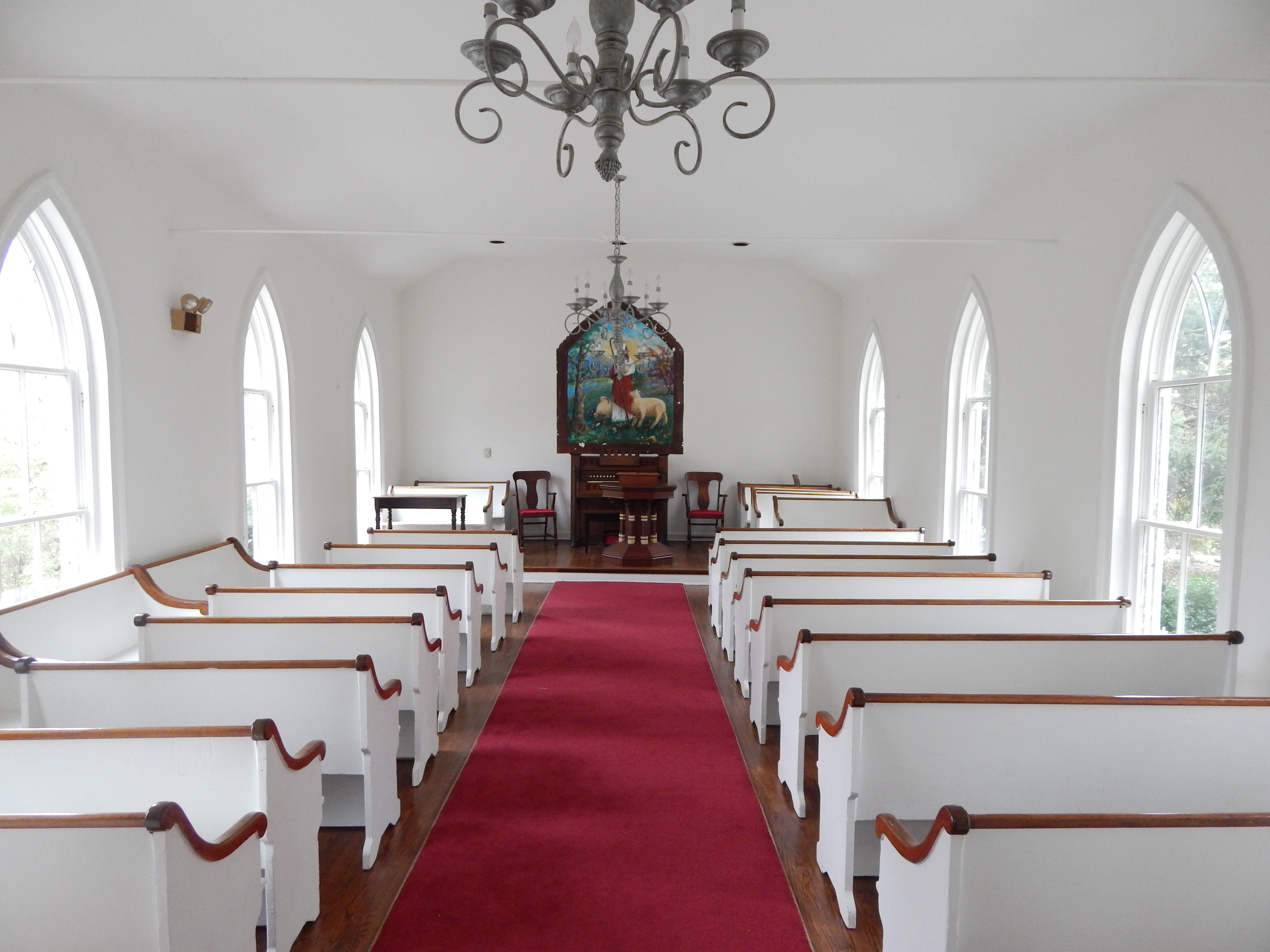 Interior of Chapel
