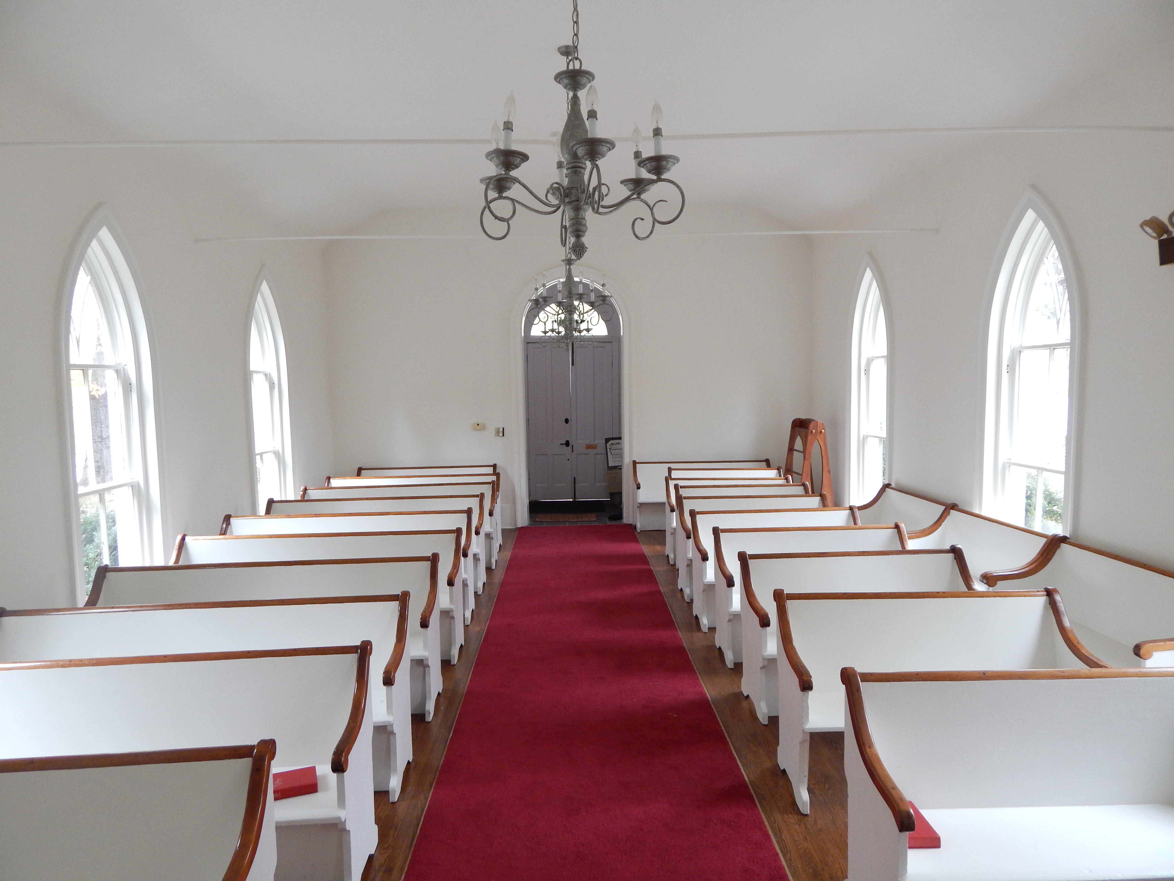 Interior of Chapel from Altar