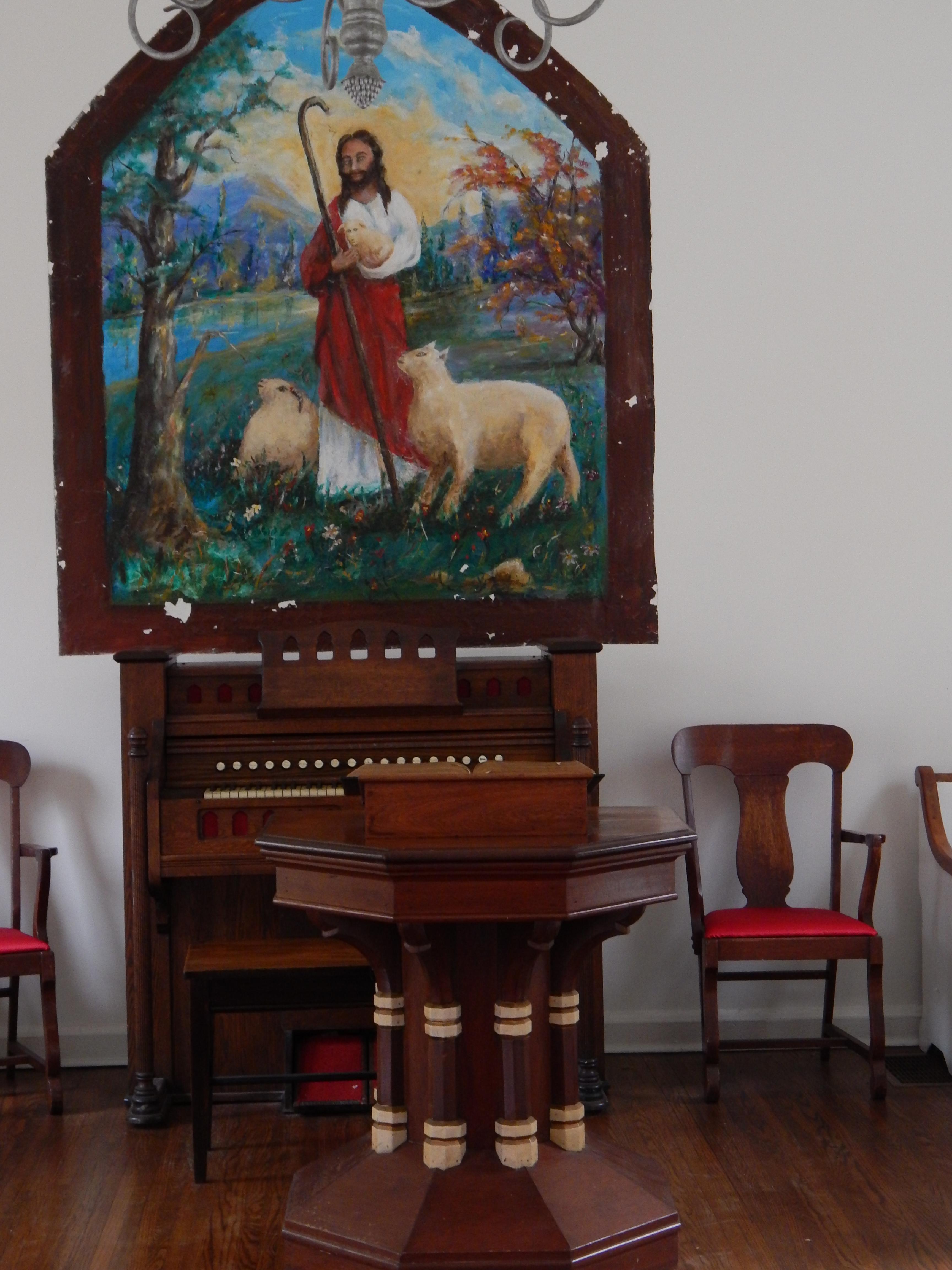 Altar and Organ