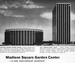 Madison Square Garden compared to Empire State Building.