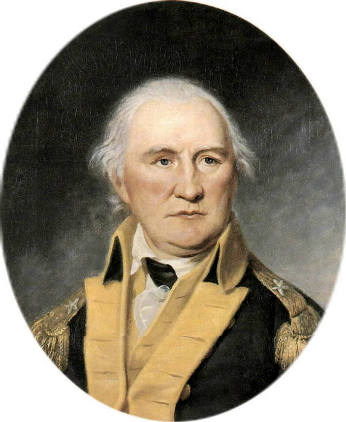 Chales Wilson Peale painting of Daniel Morgan