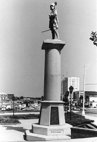 Monument as it looked in 1980. Courtesy of the South Carolina Department of Archives and History