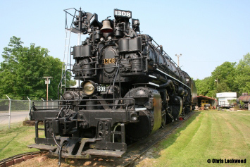 H-6 Baldwin Steam Locomotive.