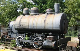 H.K. Porter 0-4-0 Saddle-tank switcher.