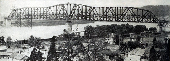 Bridge in 1918
