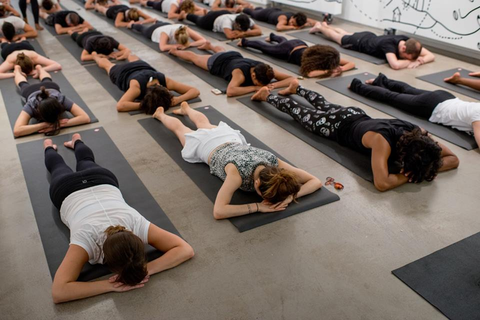 "Part of the ""Sit Be Breathe With Me"" yoga event"