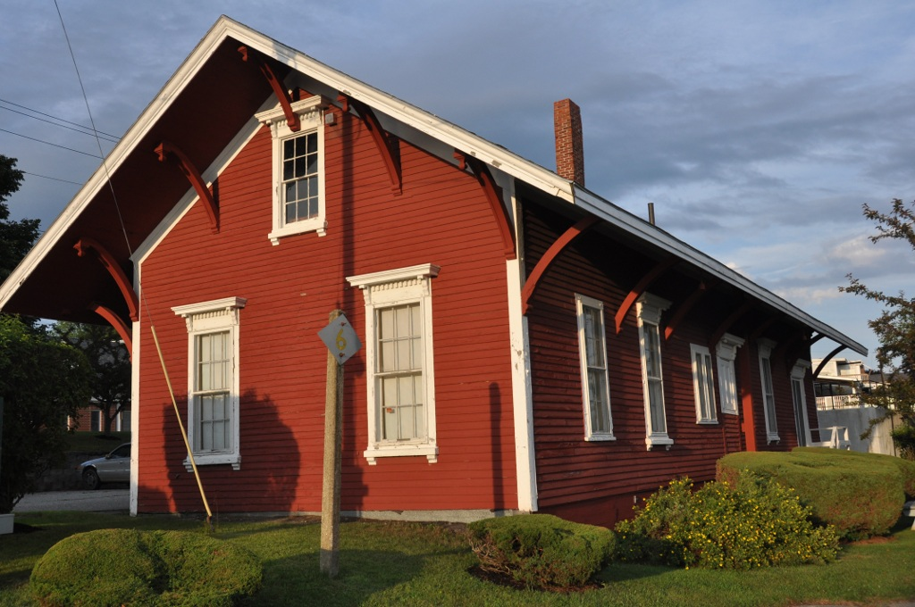 Bucksport Railroad Station, now the Bucksport Historical Society