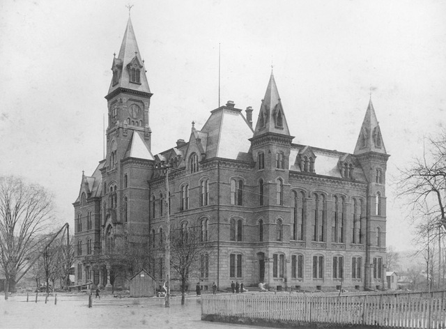 West Virginia's Victorian-era capitol, 1885-1921.