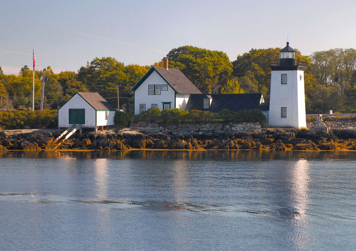 Grindel Point Sailor's Museum and Lighthouse. Credit: Jim Wolfram, US Lighthouse Society