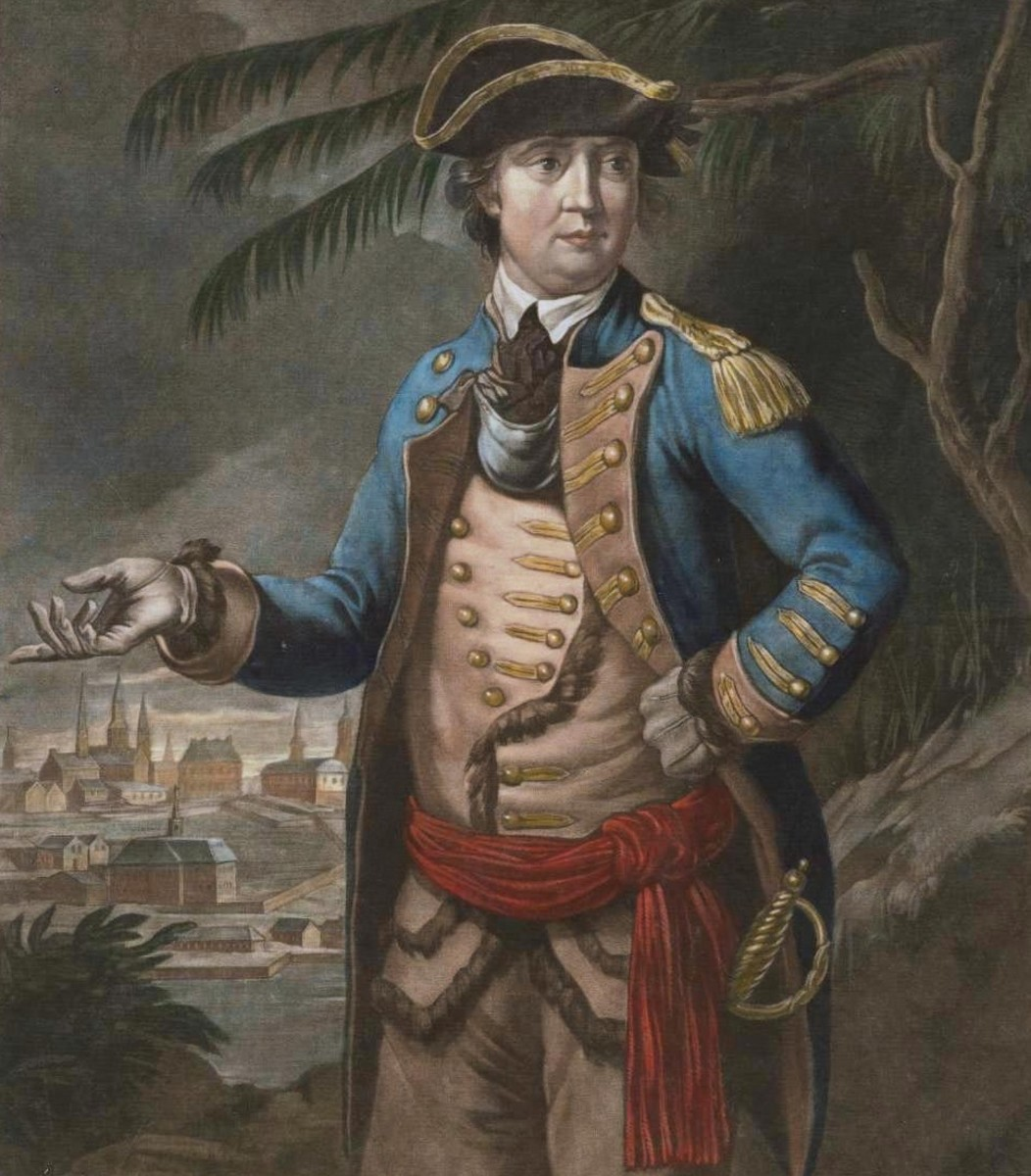 General Benedict Arnold, hero of Saratoga and infamous traitor