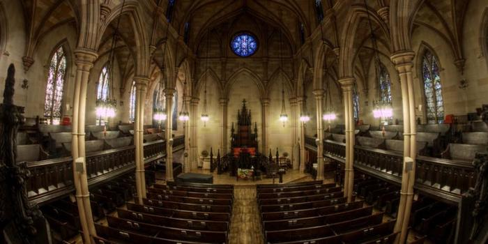 First Unitarian Church in Brooklyn, interior