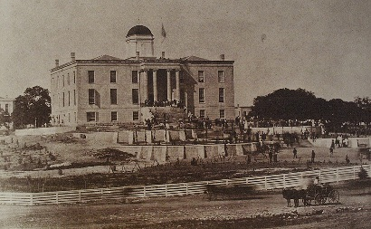The 1853 Texas State Capitol
