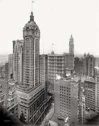 Singer Building in 1955